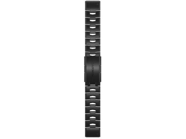 Garmin QuickFit Correa Reloj de Titanio 22mm para Fenix 6S, negro